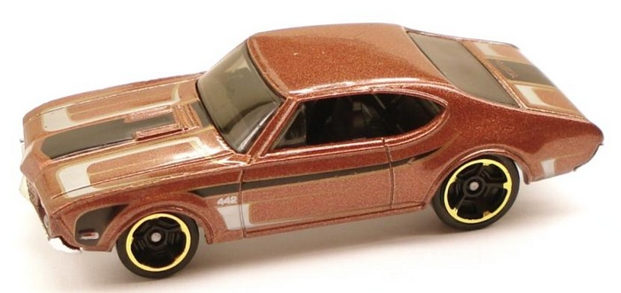Hot Wheels - Coleção 2011 - ´68 OLDS 442  - Hobby Lobby CollectorStore