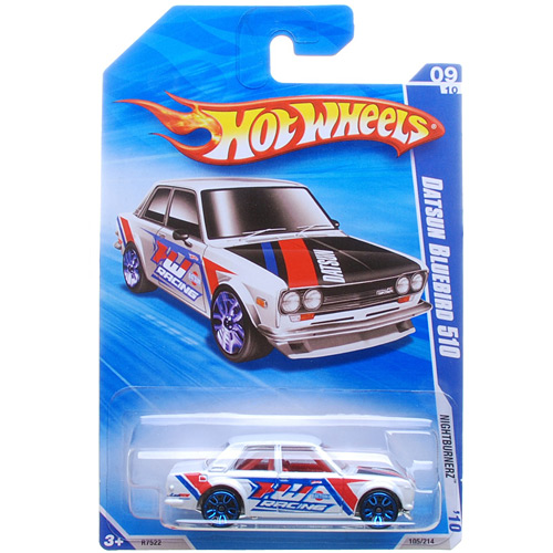 Hot Wheels - Coleção 2010 - Datsun Bluebird 510  - Hobby Lobby CollectorStore