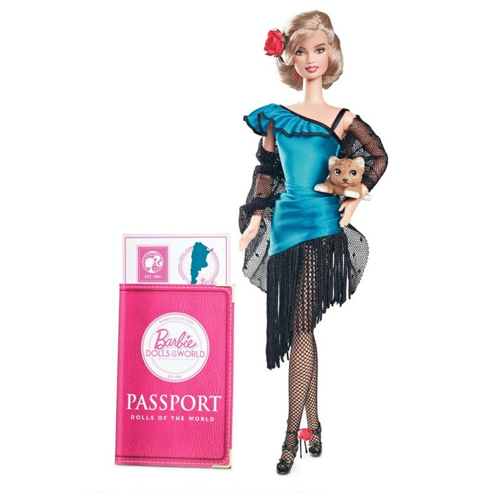 Barbie Collector - Dolls of the World - Argentina  - Hobby Lobby CollectorStore