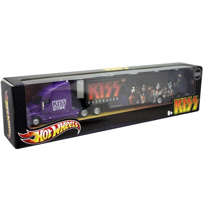 Hot Wheels - Tour Haulers Collection - Kiss  - Hobby Lobby CollectorStore