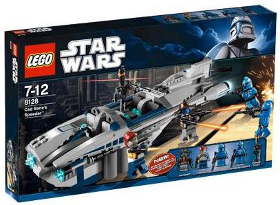 Lego Star Wars -Cad Bane´s Speeder - Ref.:8128
