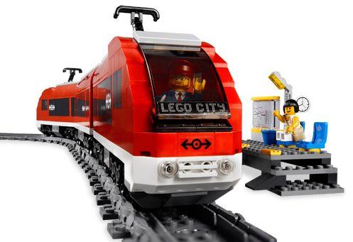 Lego City - Trem de Passageiros - Ref.:7938  - Hobby Lobby CollectorStore