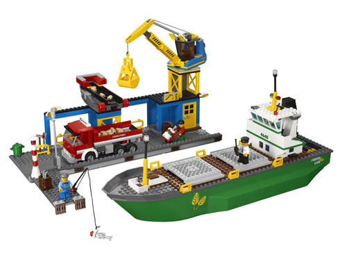 Lego City - Porto - Ref.:4645  - Hobby Lobby CollectorStore