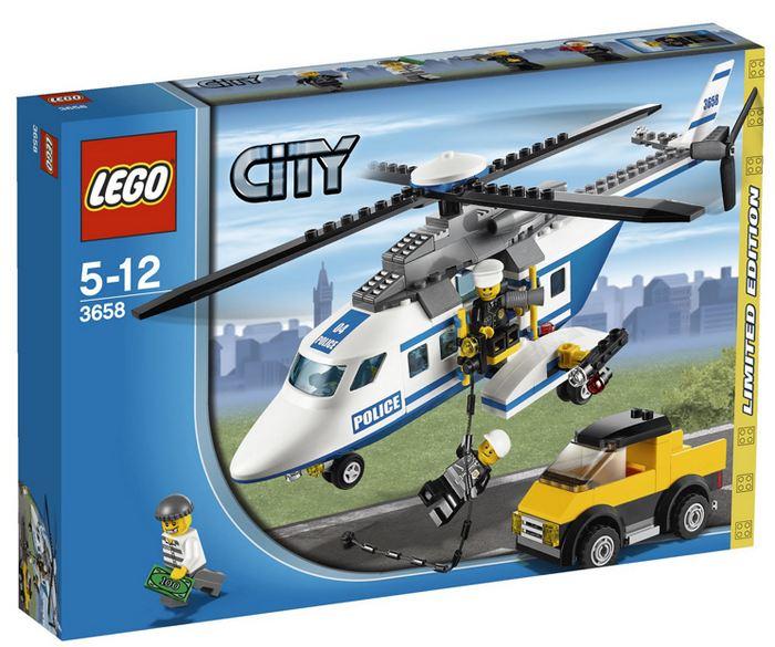 Lego City - Helicóptero de Polícia - Ref.:3658