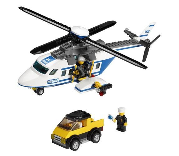 Lego City - Helicóptero de Polícia - Ref.:3658  - Hobby Lobby CollectorStore