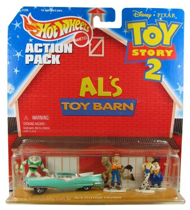 Hot Wheels - Action Pack - Al´s Toys Barn - Toy Story 2
