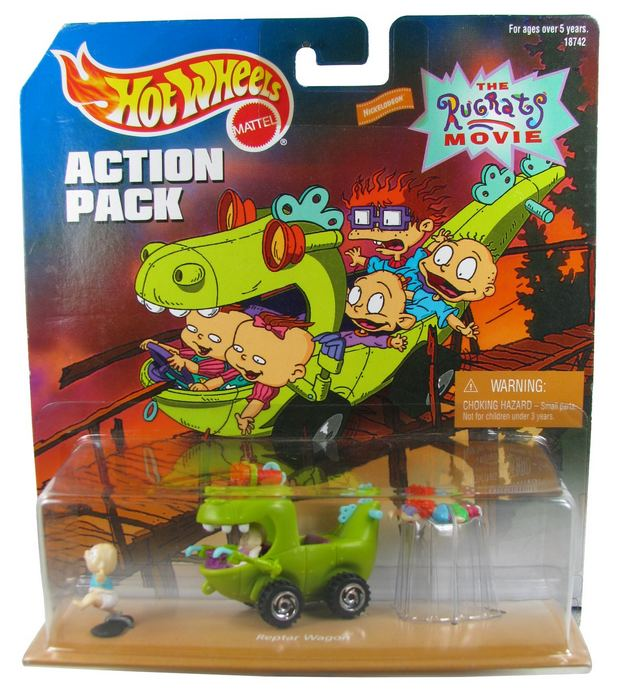 Hot Wheels - Action Pack - Rugrats Road Adventure  - Hobby Lobby CollectorStore