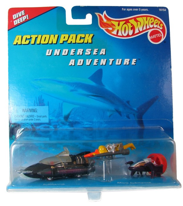 Hot Wheels - Action Pack - Undersea Adventure  - Hobby Lobby CollectorStore