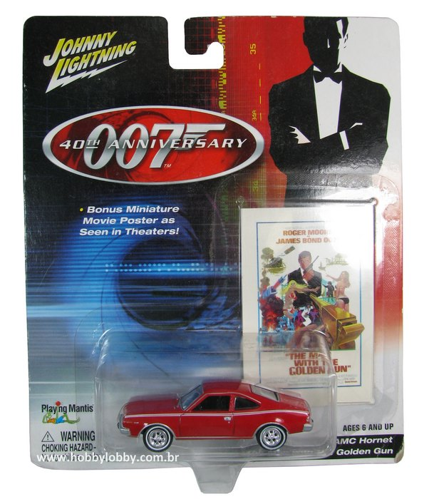 Johnny Lightning - 007 The Man With The Golden Gun - AMC Hornet