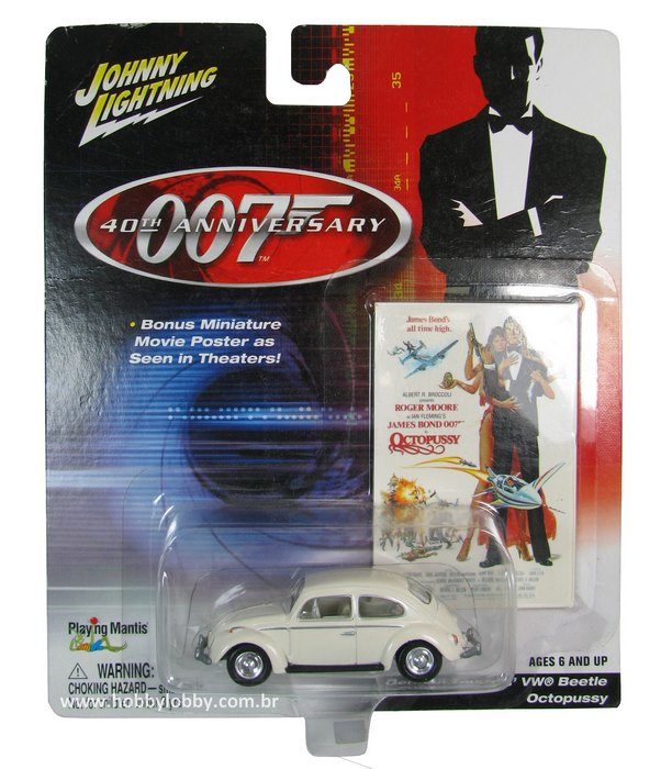 Johnny Lightning - 007 Octopussy - German Tourists´VW Beetle