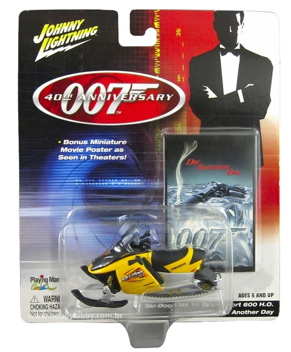 Johnny Lightning - 007 Die Another Day - SKI-DOO MX Z REV SPORT 600