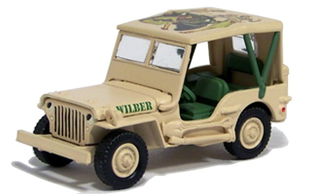 Johnny Lightning - The Saturday Evening Post - Willys WWII Scout
