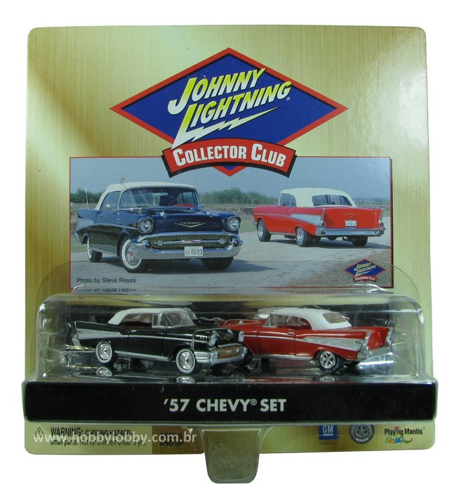 Johnny Lightning - Collector Club - ´57 Chevy Set