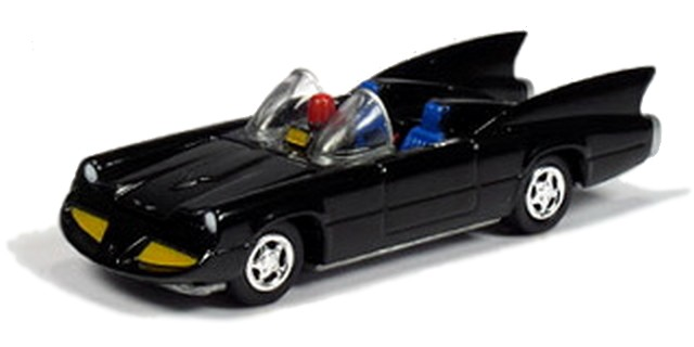 Johnny Lightning - Batman - Batmobile 1960´s Dc Comics