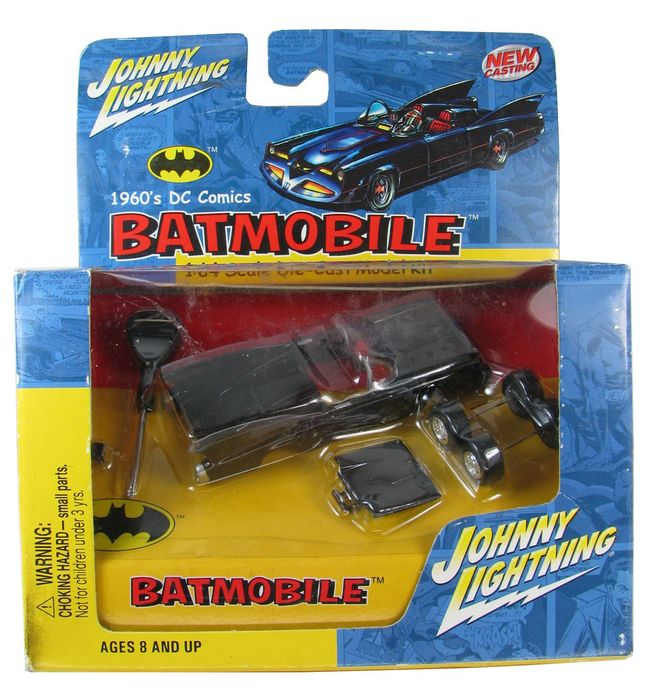 Johnny Lightning - Batman - Batmobile 1960´s Dc Comics  - Hobby Lobby CollectorStore