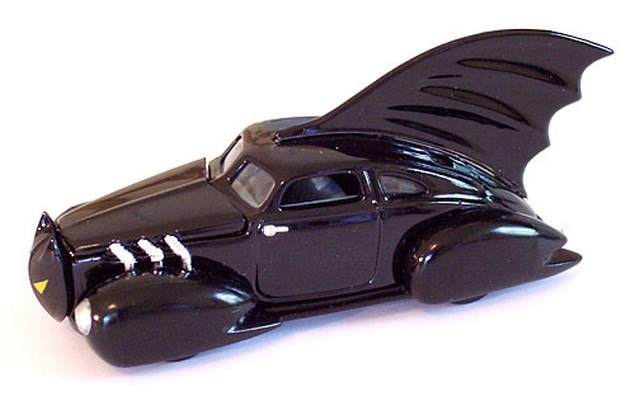 Johnny Lightning - Batman - Batmobile 1940´s Dc Comics