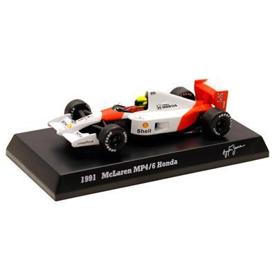 Kyosho - Coleção Ayrton Senna - 1991 - McLaren MP46 Honda