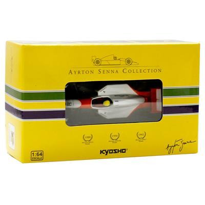Kyosho - Coleção Ayrton Senna - 1992 - McLaren MP47 Honda  - Hobby Lobby CollectorStore