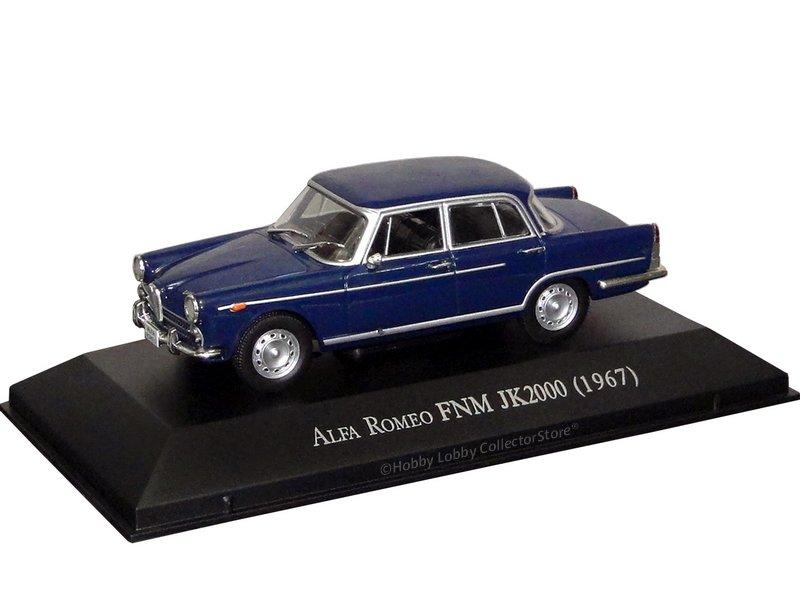 Altaya - Carros Inesquecíveis do Brasil - Alfa Romeo FNM JK 2000 (1967)