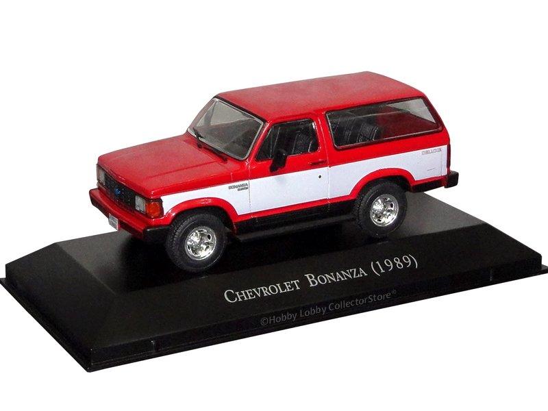 Altaya - Carros Inesquecíveis do Brasil - Chevrolet Bonanza (1989)