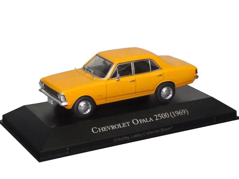 Altaya - Carros Inesquecíveis do Brasil - Chevrolet Opala 2500 (1969)