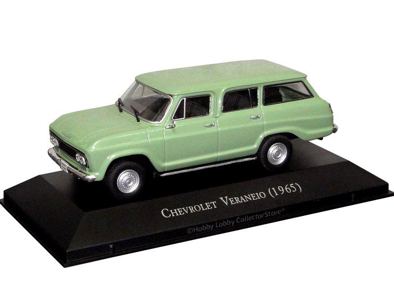 Altaya - Carros Inesquecíveis do Brasil -  Chevrolet Veraneio (1968)