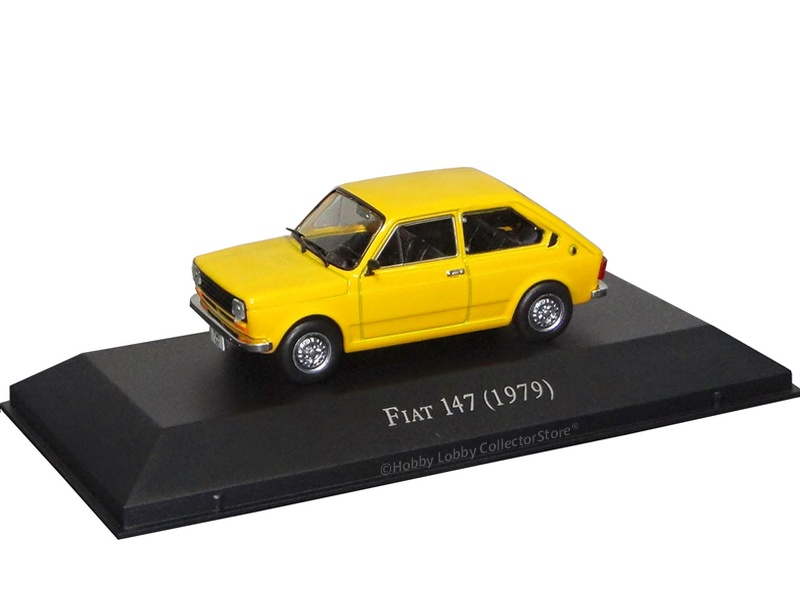 Altaya - Carros Inesquecíveis do Brasil - Fiat 147 (1979)
