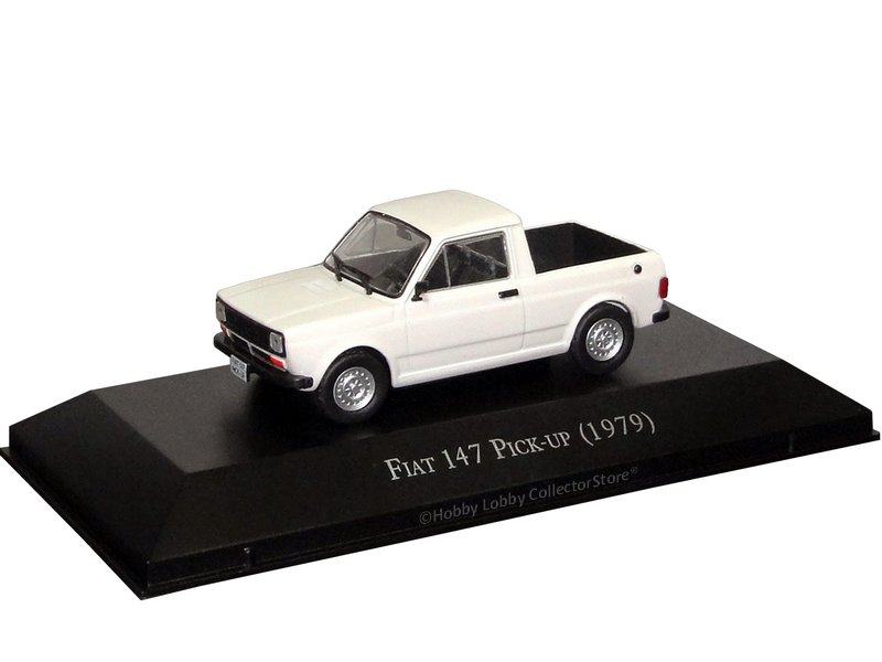 Altaya - Carros Inesquecíveis do Brasil - Fiat 147 pick-up (1979)  - Hobby Lobby CollectorStore