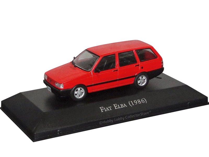 Altaya - Carros Inesquecíveis do Brasil - Fiat Elba (1986)
