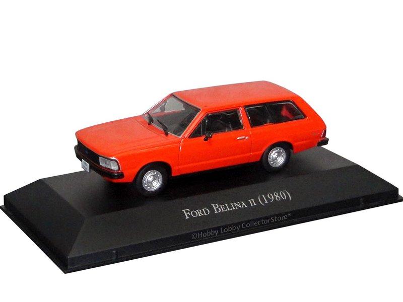 Altaya - Carros Inesquecíveis do Brasil - Ford Belina II (1980)