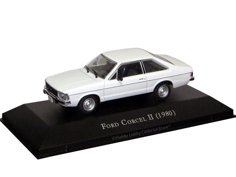 Altaya - Carros Inesquecíveis do Brasil - Ford Corcel II (1980)