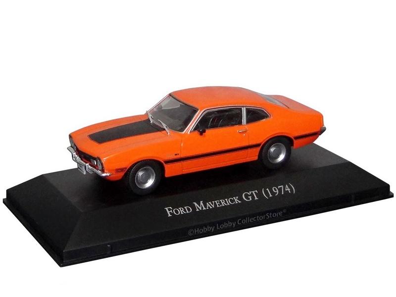 Altaya - Carros Inesquecíveis do Brasil - Ford Maverick GT (1974)