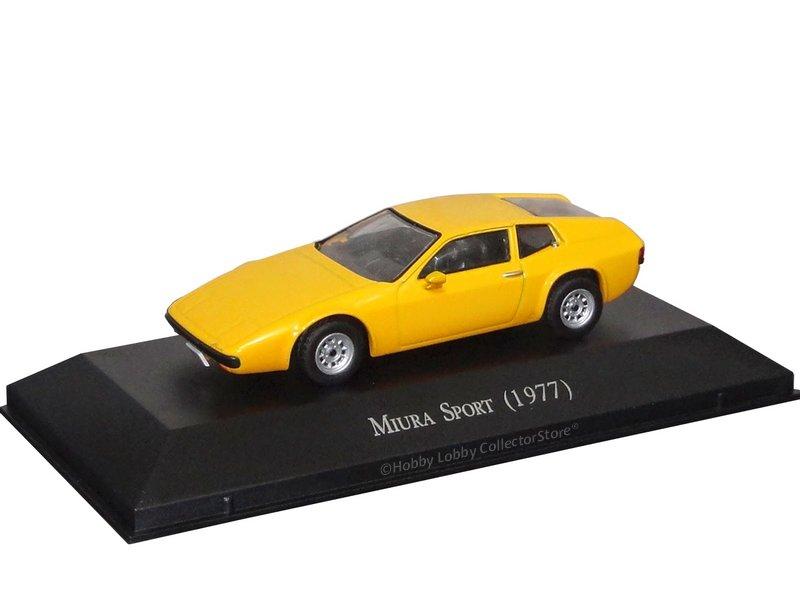 Altaya - Carros Inesquecíveis do Brasil - Miura Sport (1977)