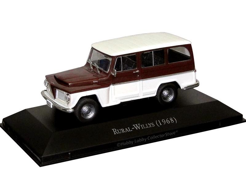 Altaya - Carros Inesquecíveis do Brasil - Rural-Willys  (1968)