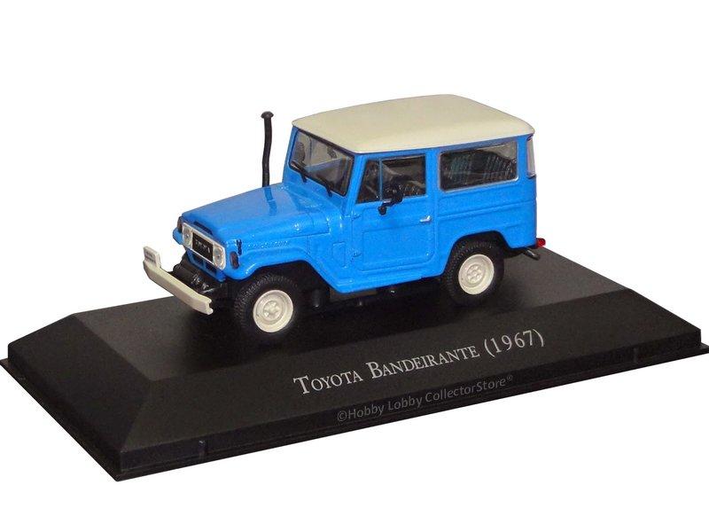 Altaya - Carros Inesquecíveis do Brasil - Toyota Bandeirante (1968)  - Hobby Lobby CollectorStore
