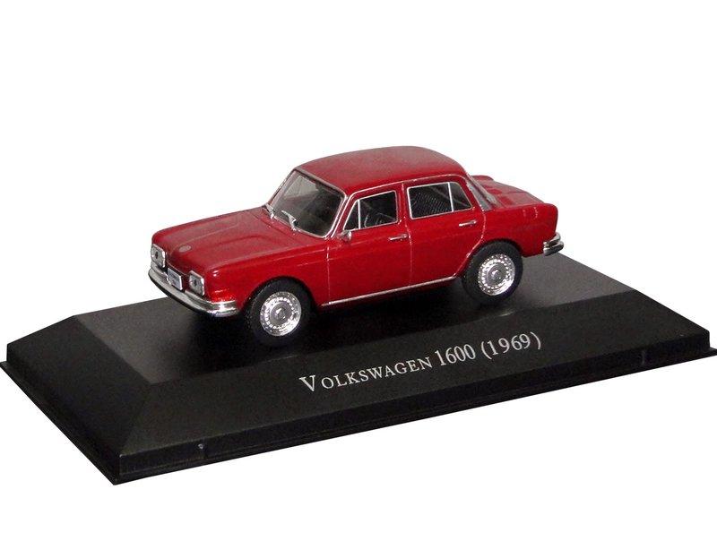 Altaya - Carros Inesquecíveis do Brasil - Volkswagen 1600 (1968)