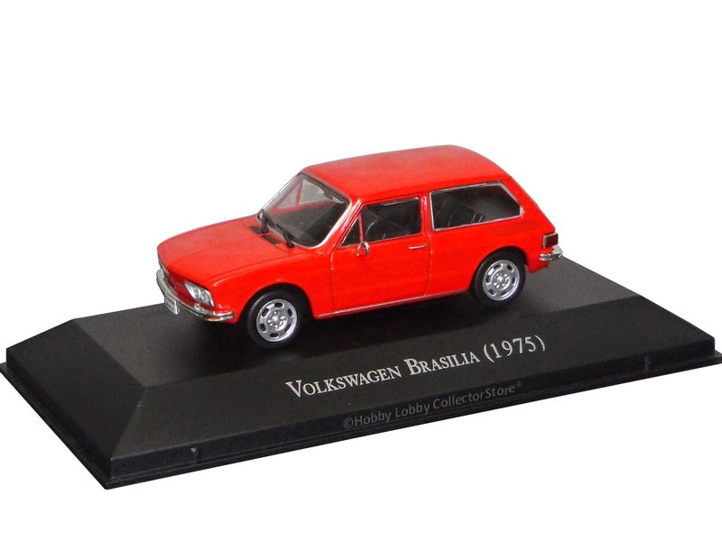 Altaya - Carros Inesquecíveis do Brasil - Volkswagen Brasília (1982)
