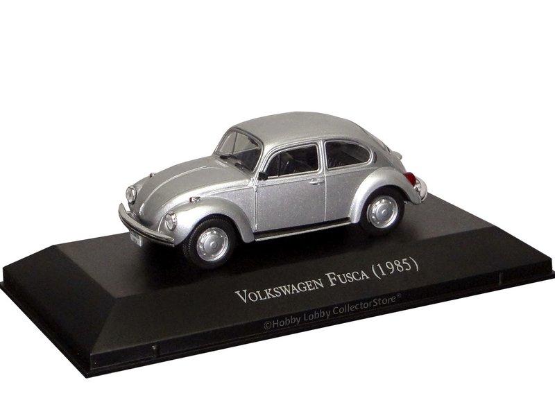 Altaya - Carros Inesquecíveis do Brasil - Volkswagen Fusca (1985)