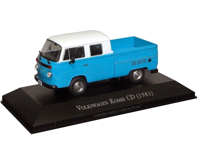 Altaya - Carros Inesquecíveis do Brasil - Volkswagen Kombi CD (1981)