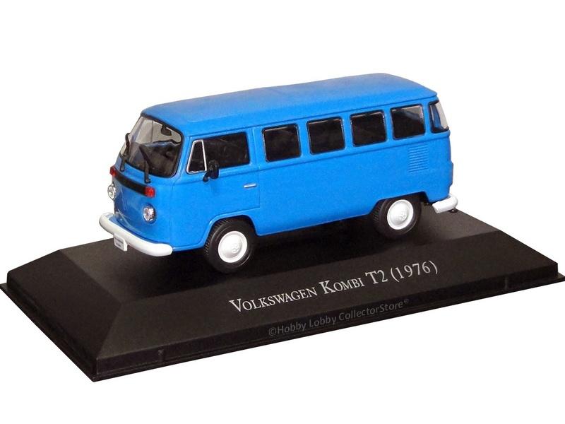Altaya - Carros Inesquecíveis do Brasil - Volkswagen Kombi T2 (1976)