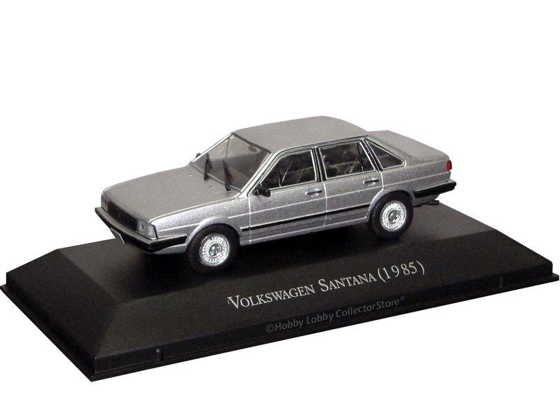 Altaya - Carros Inesquecíveis do Brasil - Volkswagen Santana (1985)