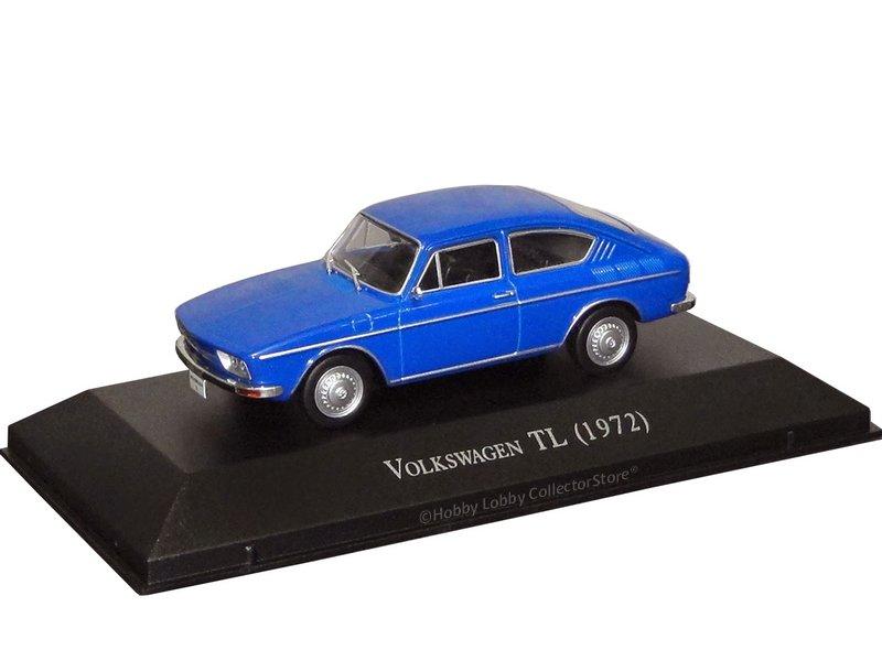 Altaya - Carros Inesquecíveis do Brasil - Volkswagen TL (1970)