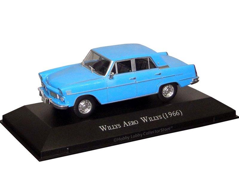 Altaya - Carros Inesquecíveis do Brasil - Willys Aero Willys (1966)