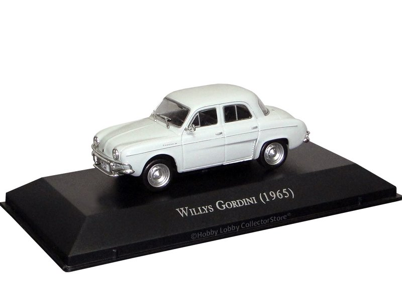 Altaya - Carros Inesquecíveis do Brasil - Willys Dauphine & Gordini Teimoso (1965)