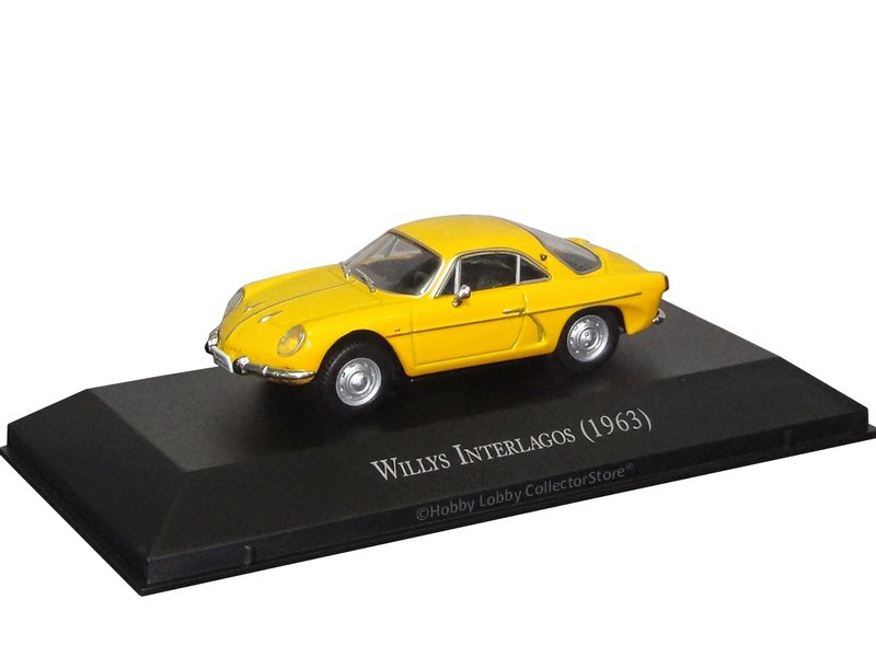 Altaya - Carros Inesquecíveis do Brasil - Willys Interlagos (1963)