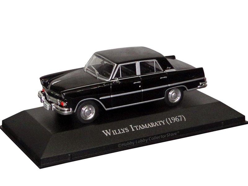 Altaya - Carros Inesquecíveis do Brasil - Willys Itamaraty (1967)