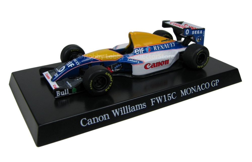 Aoshima - Canon Williams FW15C Monaco GP  - Hobby Lobby CollectorStore