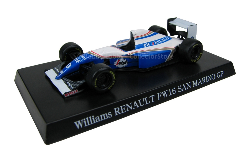 Aoshima - Williams Renault FW16 - San Marino GP  - Hobby Lobby CollectorStore