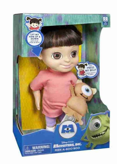 Boneca Boo com Mecanismo - Monstros SA - Spin Master  - Hobby Lobby CollectorStore