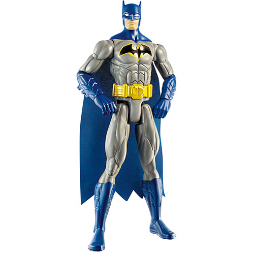 Boneco Liga da Justiça Batman Azul 30cm - Mattel